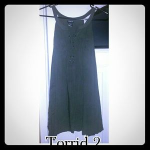 Torrid size 2 army green top